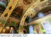 Купить «Interior of the Annunciation Cathedral of the Kazan Kremlin», фото № 29626721, снято 10 июня 2018 г. (c) FotograFF / Фотобанк Лори