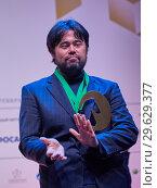 Купить «Grandmaster Hikaru Nakamura, USA on award ceremony», фото № 29629377, снято 30 декабря 2018 г. (c) Stockphoto / Фотобанк Лори