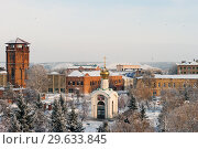 Купить «Троицкий парк (бывший Ленинский парк) в городе Бузулуке. Январь 2019 года.», фото № 29633845, снято 1 января 2019 г. (c) Наталья Жесткова / Фотобанк Лори