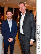 Oliver Berben, Mathias Doepfner at the book premiere Strafe by Ferdinand... (2018 год). Редакционное фото, фотограф AEDT / WENN.com / age Fotostock / Фотобанк Лори