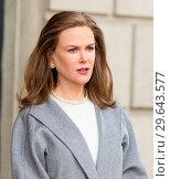 Купить «On Location with The Goldfinch Featuring: Nicole Kidman Where: New York, New York, United States When: 13 Mar 2018 Credit: WENN.com», фото № 29643577, снято 13 марта 2018 г. (c) age Fotostock / Фотобанк Лори