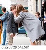 Купить «On Location with The Goldfinch Featuring: Nicole Kidman Where: New York, New York, United States When: 13 Mar 2018 Credit: WENN.com», фото № 29643581, снято 13 марта 2018 г. (c) age Fotostock / Фотобанк Лори