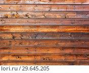 Купить «Wooden boards with natural patterns as background», фото № 29645205, снято 3 ноября 2018 г. (c) FotograFF / Фотобанк Лори