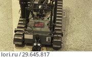 Купить «BestRoboFest Easy robot for mine clearance», видеоролик № 29645817, снято 5 сентября 2016 г. (c) Потийко Сергей / Фотобанк Лори