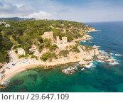 Купить «Castell d'en Plaja in Lloret de Mar», фото № 29647109, снято 28 мая 2018 г. (c) Яков Филимонов / Фотобанк Лори