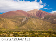 Купить «Andes near Las Lenas», фото № 29647153, снято 9 февраля 2017 г. (c) Яков Филимонов / Фотобанк Лори