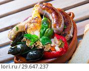 Купить «Kapama - traditional Bulgarian dish», фото № 29647237, снято 17 января 2019 г. (c) Яков Филимонов / Фотобанк Лори