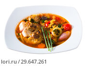 Купить «Traditional Georgian soup Kharcho», фото № 29647261, снято 23 апреля 2019 г. (c) Яков Филимонов / Фотобанк Лори