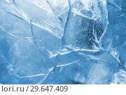 Купить «Abstract ice background», фото № 29647409, снято 5 января 2019 г. (c) Икан Леонид / Фотобанк Лори