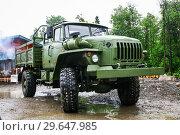 Купить «Ural 43206», фото № 29647985, снято 29 мая 2010 г. (c) Art Konovalov / Фотобанк Лори