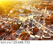 Купить «Chateau de Langeais in Indre-et-Loire department, France», фото № 29648733, снято 8 октября 2018 г. (c) Яков Филимонов / Фотобанк Лори