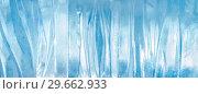 Купить «Pattern of transparent shiny ice», фото № 29662933, снято 8 января 2019 г. (c) Икан Леонид / Фотобанк Лори