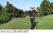 Купить «High Definition Stock Golf Footage», видеоролик № 29665605, снято 7 июня 2007 г. (c) Wavebreak Media / Фотобанк Лори