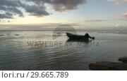 Купить «Stock Footage Shoreline», видеоролик № 29665789, снято 27 мая 2019 г. (c) Wavebreak Media / Фотобанк Лори