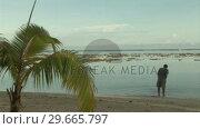 Купить «Stock Footage Tropical Island», видеоролик № 29665797, снято 23 мая 2019 г. (c) Wavebreak Media / Фотобанк Лори