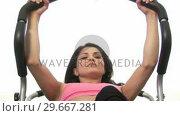 Купить «Woman Doing SitUps», видеоролик № 29667281, снято 16 января 2019 г. (c) Wavebreak Media / Фотобанк Лори