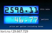 Купить «Fuel Prices», видеоролик № 29667729, снято 17 июля 2019 г. (c) Wavebreak Media / Фотобанк Лори