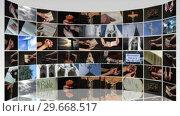 Купить «Montage of Religious footage 2», видеоролик № 29668517, снято 20 сентября 2019 г. (c) Wavebreak Media / Фотобанк Лори