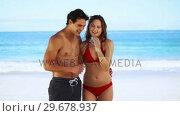 Купить «Young couple photographing themselves», видеоролик № 29678937, снято 15 ноября 2011 г. (c) Wavebreak Media / Фотобанк Лори