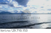 Купить «Lake on a sunny day 4k», видеоролик № 29710153, снято 9 сентября 2017 г. (c) Wavebreak Media / Фотобанк Лори