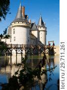Купить «Chateau de Sully-sur-Loire, France», фото № 29711261, снято 11 октября 2018 г. (c) Яков Филимонов / Фотобанк Лори