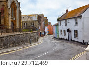 Купить «The view of church street in Lyme Regis. West Dorset. England», фото № 29712469, снято 12 мая 2009 г. (c) Serg Zastavkin / Фотобанк Лори