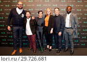 Cast and guests attend Press launch for ITV2's new spoof action comedy... (2018 год). Редакционное фото, фотограф Phil Lewis / WENN.com / age Fotostock / Фотобанк Лори