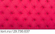 Купить «upholstered pink textile», фото № 29730037, снято 23 марта 2019 г. (c) Яков Филимонов / Фотобанк Лори