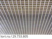 Купить «Texture of wooden ceiling honeycombs.», фото № 29733805, снято 23 февраля 2018 г. (c) Акиньшин Владимир / Фотобанк Лори