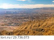 Купить «panorama of las vegas city in nevada», фото № 29736073, снято 1 марта 2018 г. (c) Syda Productions / Фотобанк Лори