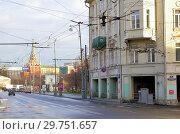Купить «Москва. Улица Волхонка. Вид на Кремль», фото № 29751657, снято 16 декабря 2006 г. (c) Илюхина Наталья / Фотобанк Лори
