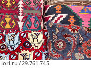Купить «Detail of some azeri Cushions.», фото № 29761745, снято 6 декабря 2018 г. (c) easy Fotostock / Фотобанк Лори