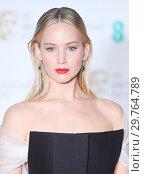 Купить «71st EE British Academy Film Awards (BAFTA) - Press Room Featuring: Jennifer Lawrence Where: London, United Kingdom When: 18 Feb 2018 Credit: WENN.com», фото № 29764789, снято 18 февраля 2018 г. (c) age Fotostock / Фотобанк Лори