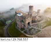 Купить «Top view of the castle Castillo de Javier. Huesca Province. Aragon. Spain», фото № 29768557, снято 3 декабря 2018 г. (c) Яков Филимонов / Фотобанк Лори