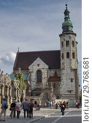 Купить «Church of St. Andrew in Krakow, Poland», фото № 29768681, снято 27 августа 2006 г. (c) Stockphoto / Фотобанк Лори
