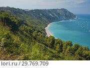 Купить «Mezzavalle Beach on Italian Adriatic coast», фото № 29769709, снято 12 августа 2018 г. (c) Stockphoto / Фотобанк Лори