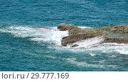 Купить «Indian Ocean shore waves», видеоролик № 29777169, снято 11 ноября 2018 г. (c) Игорь Жоров / Фотобанк Лори