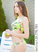 Купить «Attractive young lady.», фото № 29778781, снято 31 мая 2016 г. (c) Сергей Сухоруков / Фотобанк Лори