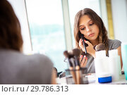 Купить «Young woman in the beauty salon», фото № 29786313, снято 2 июня 2018 г. (c) Elnur / Фотобанк Лори