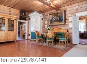 Купить «Interior of the museum Alexander Suvorov in the museum-estate», фото № 29787141, снято 22 июля 2017 г. (c) FotograFF / Фотобанк Лори