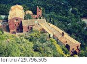 Купить «The Escornalbou Castle in Riudecanyes», фото № 29796505, снято 24 сентября 2016 г. (c) Яков Филимонов / Фотобанк Лори