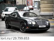 Купить «Bentley Continental GT», фото № 29799653, снято 3 июня 2012 г. (c) Art Konovalov / Фотобанк Лори