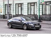 Audi A5 (2012 год). Редакционное фото, фотограф Art Konovalov / Фотобанк Лори