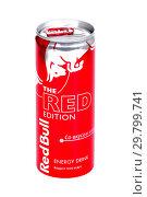 Купить «Red Bull The Red Edition», фото № 29799741, снято 26 января 2019 г. (c) Art Konovalov / Фотобанк Лори