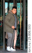 Купить «Katie Price leaves Portcullis House, with her mother Amy and son Harvey, after addressing a parliamentary sub-committee on on-line hate Featuring: Harvey...», фото № 29806593, снято 6 февраля 2018 г. (c) age Fotostock / Фотобанк Лори