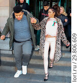 Купить «Katie Price leaves Portcullis House, with her mother Amy and son Harvey, after addressing a parliamentary sub-committee on on-line hate Featuring: Katie...», фото № 29806609, снято 6 февраля 2018 г. (c) age Fotostock / Фотобанк Лори