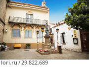 Купить «The Spanish village in Barcelona is an open-air Museum. Catalonia, Spain», фото № 29822689, снято 6 апреля 2018 г. (c) Наталья Волкова / Фотобанк Лори