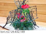 Купить «Японская икебана», фото № 29832149, снято 3 февраля 2018 г. (c) Татьяна Белова / Фотобанк Лори