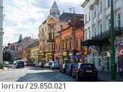 Streets of Arad town (2017 год). Редакционное фото, фотограф Яков Филимонов / Фотобанк Лори