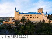 Купить «November view of Alcazar of Segovia», фото № 29852201, снято 16 ноября 2014 г. (c) Яков Филимонов / Фотобанк Лори